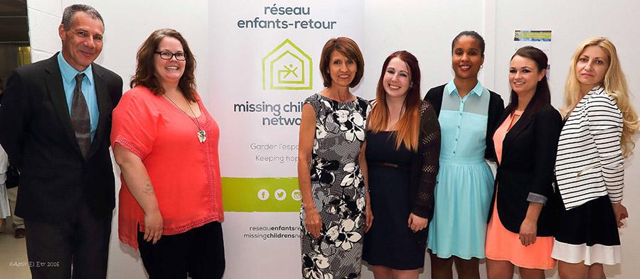 Missing children's network team